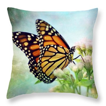 Throw Pillow featuring the photograph Divine Things by Kerri Farley