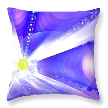 Divine Vision Throw Pillow by Ute Posegga-Rudel