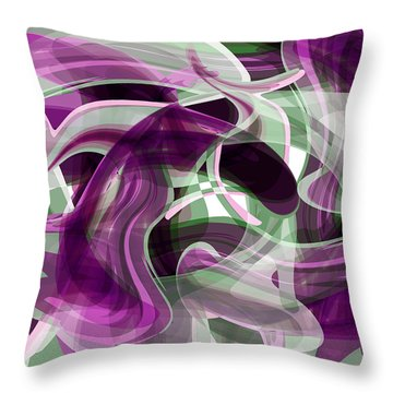 Diving Into Your Ocean 2 Throw Pillow by Angelina Vick