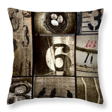 Divisible By Three Throw Pillow