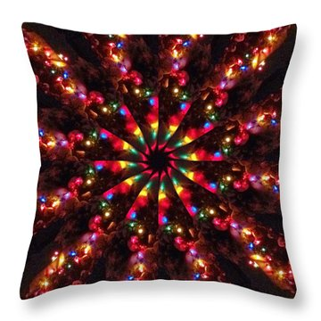 Divya Himahati Throw Pillow