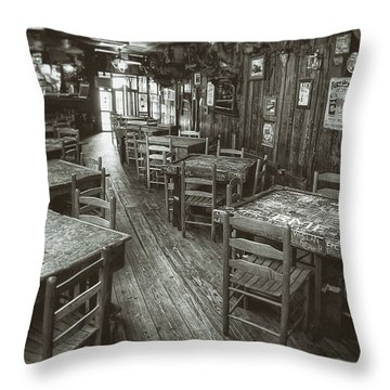 Dixie Chicken Interior Throw Pillow by Scott Norris
