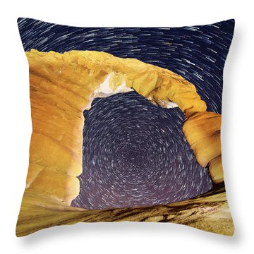 Throw Pillow featuring the photograph Dizzy by Dustin  LeFevre