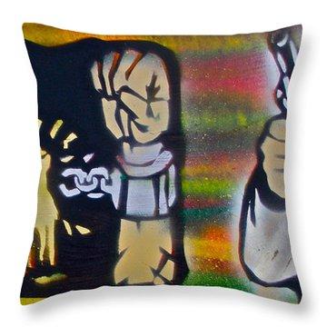 Django Gunnin' Throw Pillow by Tony B Conscious