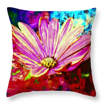 Throw Pillow featuring the painting Do It All Over Again by Joe Misrasi