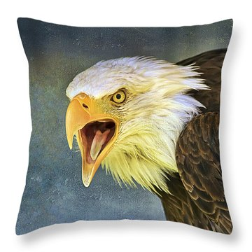 Do It Or Else Throw Pillow by Teresa Zieba