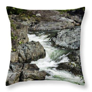 Do Not Follow - West Coast Art By Jordan Blackstone Throw Pillow by Jordan Blackstone