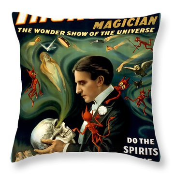 Do The Spirits Come Back Throw Pillow