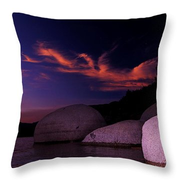 Throw Pillow featuring the photograph Do You Believe In Dragons? by Sean Sarsfield