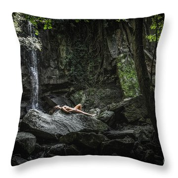 Do You Believe In Faeries Throw Pillow