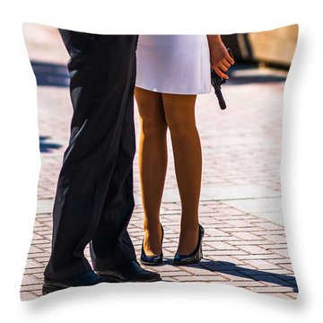 Do You Love Me? - Featured 3 Throw Pillow by Alexander Senin