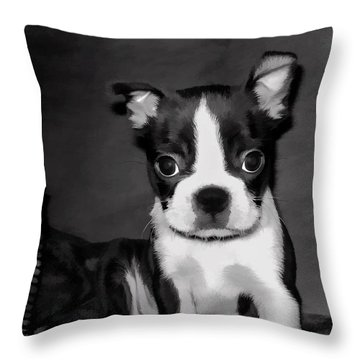 Do You Love Me Throw Pillow