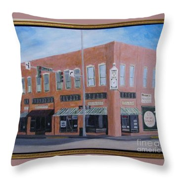 The Chavanne Building Throw Pillow