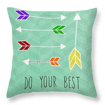 Arrows Throw Pillows