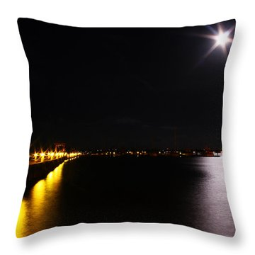 Dock Side Throw Pillow