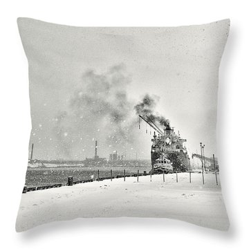 Dockyard Throw Pillow