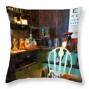 Doctor - Pediatrician's Office Throw Pillow