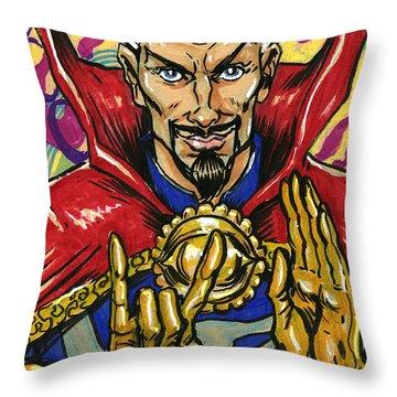 Doctor Strange Throw Pillow