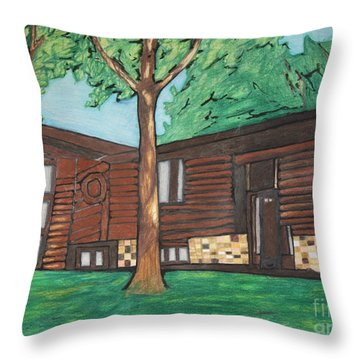 Doctor's House Throw Pillow