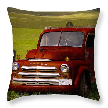Dodge - Best Years Remembered Throw Pillow