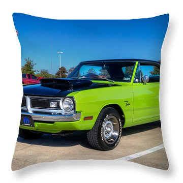 Dodge Dart Swinger Throw Pillow