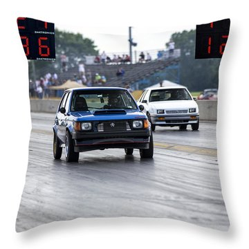 Dodge Omni Glh Vs Rwd Dodge Shadow Throw Pillow