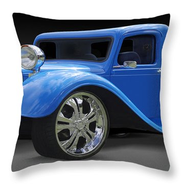 Dodge Pickup Throw Pillow by Mike McGlothlen