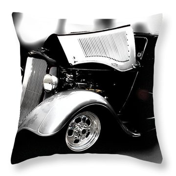 Throw Pillow featuring the photograph Dodge Power by Aaron Berg
