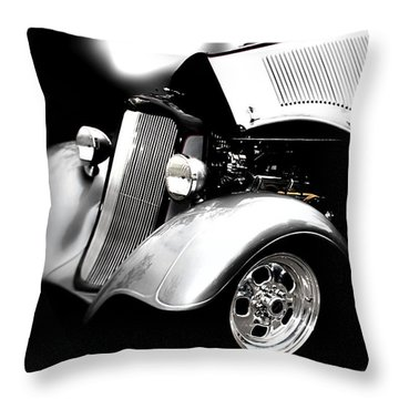 Classic Cars Throw Pillow featuring the photograph Dodge This by Aaron Berg