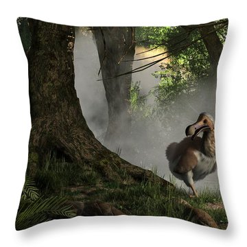 Dodo Bird Throw Pillow