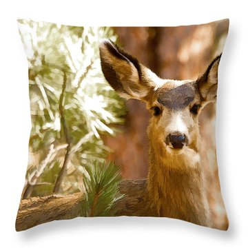 Doe Awareness Throw Pillow