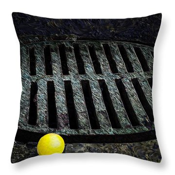 Dogs Eye View Throw Pillow