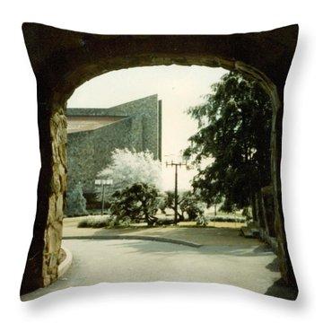 Dogwood Arch Throw Pillow