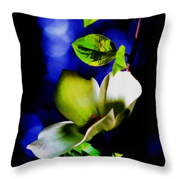 Dogwood Dream Throw Pillow