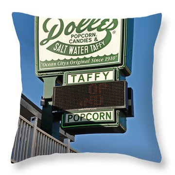 Dolle's Throw Pillow by Skip Willits