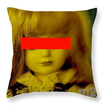 Dolls 22 Throw Pillow