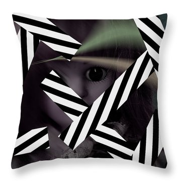 Dolls 29 Throw Pillow