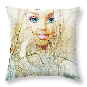 Dolls 406-08-13 Marucii Throw Pillow