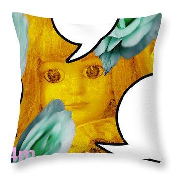 Dolls 8 Throw Pillow