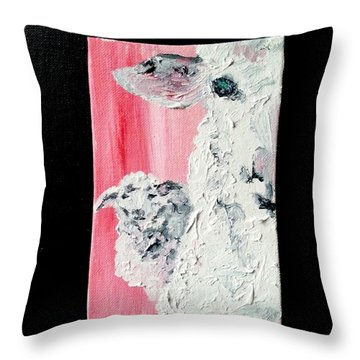 Dolly And Dot Throw Pillow