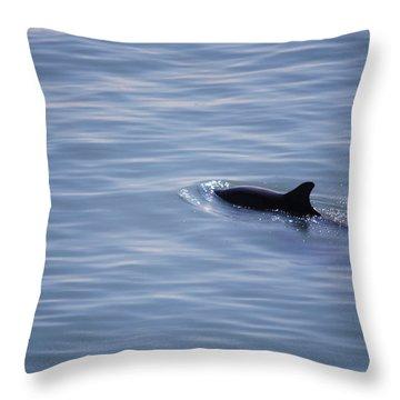 #lifemovesalonglikewater Throw Pillow by Becky Furgason