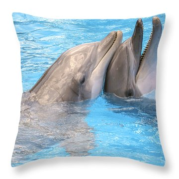 Bff - Best Friends Forever Throw Pillow