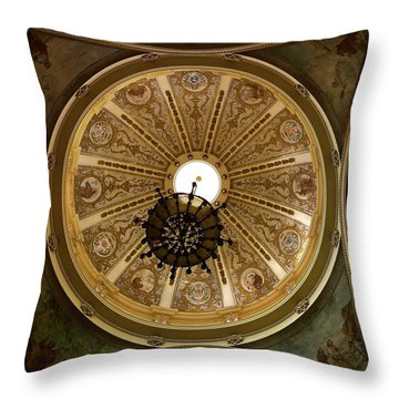 Dome Of St. Francis De Paul Throw Pillow