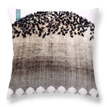 Dome Of The Mosque Throw Pillow