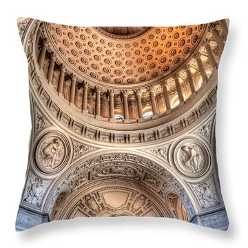 Domed Ornate Interior Throw Pillow