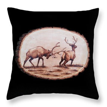 Dominance Throw Pillow by Minisa Robinson