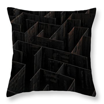 Steel Throw Pillows