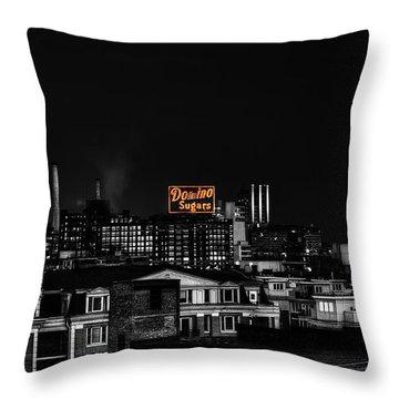 Baltimore Md Throw Pillows