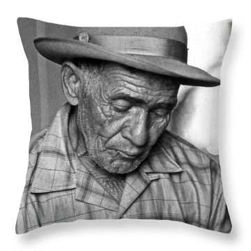 Don Goyo Throw Pillow