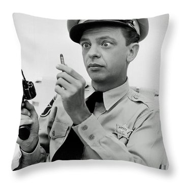 Barney Fife - Don Knotts Throw Pillow